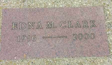 CLARK, EDNA M - Codington County, South Dakota | EDNA M CLARK - South Dakota Gravestone Photos