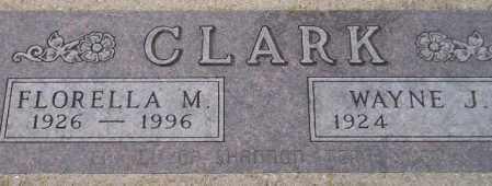 CLARK, FLORELLA M. - Codington County, South Dakota | FLORELLA M. CLARK - South Dakota Gravestone Photos