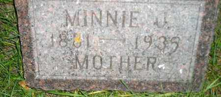 CLARK, MINNIE J. - Codington County, South Dakota | MINNIE J. CLARK - South Dakota Gravestone Photos