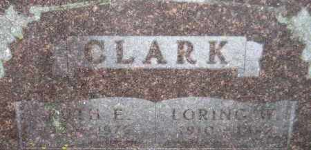 CLARK, LORING W - Codington County, South Dakota | LORING W CLARK - South Dakota Gravestone Photos