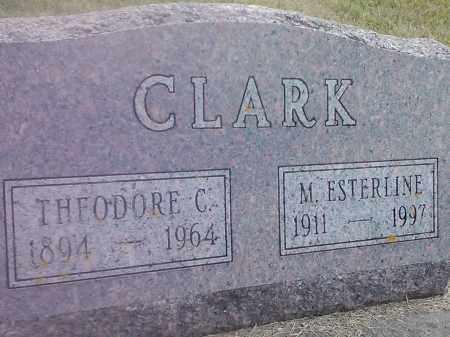 CLARK, M ESTERLINE - Codington County, South Dakota | M ESTERLINE CLARK - South Dakota Gravestone Photos