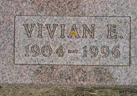CLARKSEAN, VIVIAN E. - Codington County, South Dakota | VIVIAN E. CLARKSEAN - South Dakota Gravestone Photos