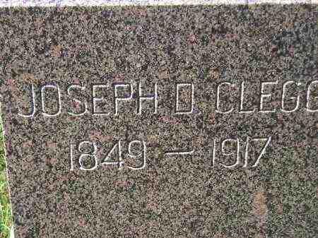 CLEGG, JOSEPH D. - Codington County, South Dakota | JOSEPH D. CLEGG - South Dakota Gravestone Photos