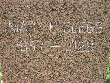 CLEGG, MARY E. - Codington County, South Dakota | MARY E. CLEGG - South Dakota Gravestone Photos