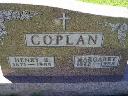 COPLAN, HENRY B. - Codington County, South Dakota | HENRY B. COPLAN - South Dakota Gravestone Photos