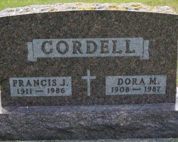 CORDELL, DORA M. - Codington County, South Dakota | DORA M. CORDELL - South Dakota Gravestone Photos