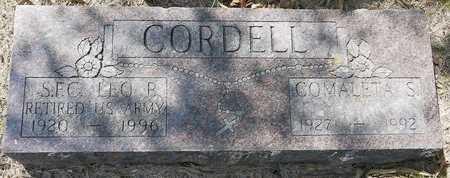 CORDELL, LEO P. - Codington County, South Dakota | LEO P. CORDELL - South Dakota Gravestone Photos