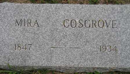 COSGROVE, MIRA - Codington County, South Dakota | MIRA COSGROVE - South Dakota Gravestone Photos