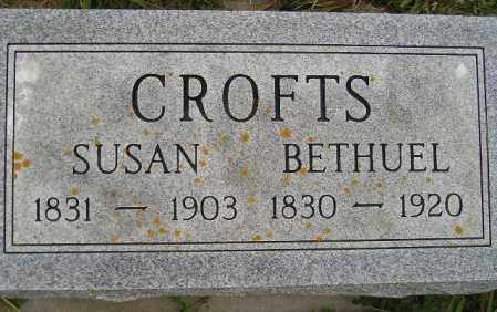 CROFTS, SUSAN M. - Codington County, South Dakota | SUSAN M. CROFTS - South Dakota Gravestone Photos