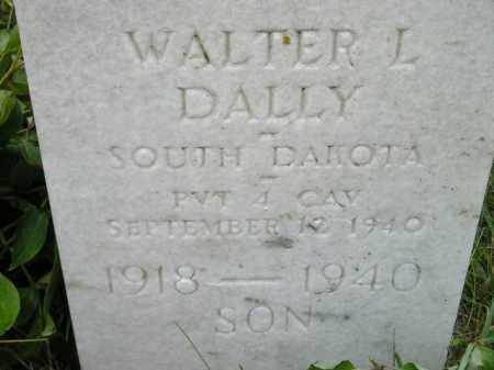 DALLY, WALTER L. - Codington County, South Dakota | WALTER L. DALLY - South Dakota Gravestone Photos