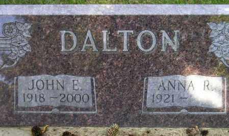 DALTON, JOHN E. - Codington County, South Dakota | JOHN E. DALTON - South Dakota Gravestone Photos