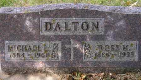 DALTON, ROSE M. - Codington County, South Dakota | ROSE M. DALTON - South Dakota Gravestone Photos