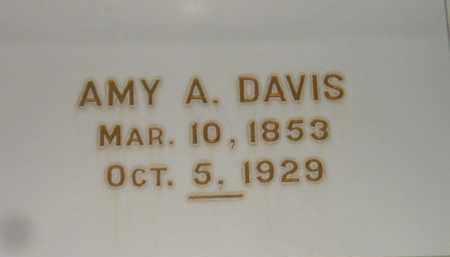 DAVIS, AMY A. - Codington County, South Dakota   AMY A. DAVIS - South Dakota Gravestone Photos