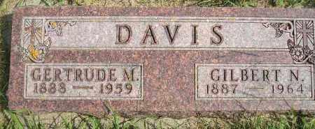 DAVIS, GILBERT N. - Codington County, South Dakota | GILBERT N. DAVIS - South Dakota Gravestone Photos
