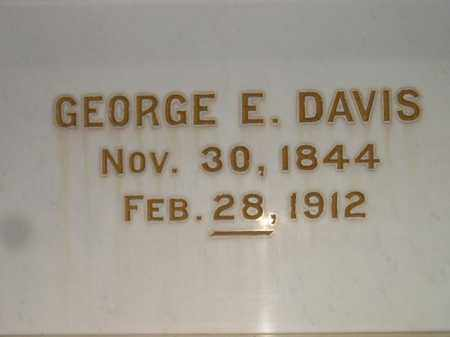 DAVIS, GEORGE E. - Codington County, South Dakota | GEORGE E. DAVIS - South Dakota Gravestone Photos