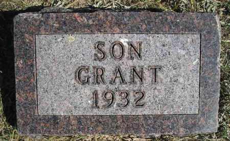 DAVIS, GRANT - Codington County, South Dakota | GRANT DAVIS - South Dakota Gravestone Photos
