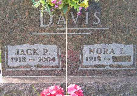 WIKA DAVIS, NORA L. - Codington County, South Dakota | NORA L. WIKA DAVIS - South Dakota Gravestone Photos