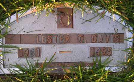 DAVIS, LESTER C. - Codington County, South Dakota | LESTER C. DAVIS - South Dakota Gravestone Photos