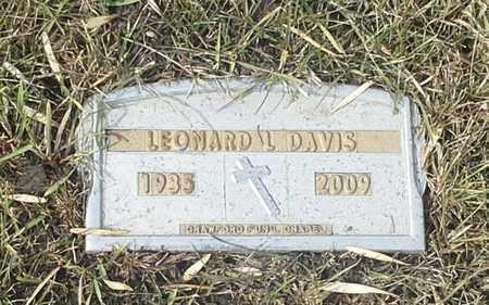 DAVIS, LEONARD L - Codington County, South Dakota   LEONARD L DAVIS - South Dakota Gravestone Photos