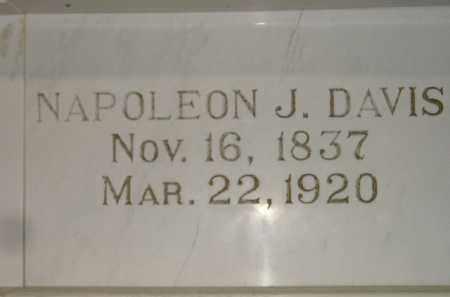 DAVIS, NAPOLEON J. - Codington County, South Dakota | NAPOLEON J. DAVIS - South Dakota Gravestone Photos