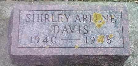 DAVIS, SHIRLEY ARLENE - Codington County, South Dakota | SHIRLEY ARLENE DAVIS - South Dakota Gravestone Photos