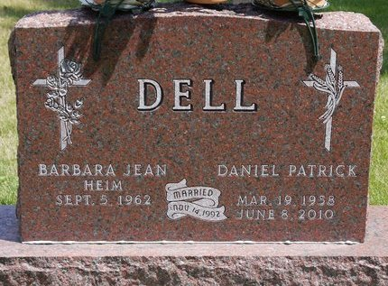 DELL, DANIEL PATRICK - Codington County, South Dakota   DANIEL PATRICK DELL - South Dakota Gravestone Photos
