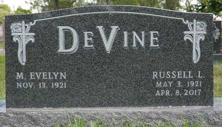 DEVINE, RUSSELL L. - Codington County, South Dakota | RUSSELL L. DEVINE - South Dakota Gravestone Photos