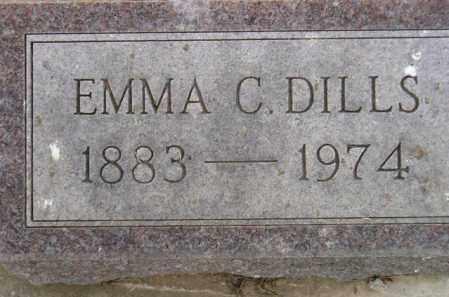 DILLS, EMMA CHRISTINA - Codington County, South Dakota | EMMA CHRISTINA DILLS - South Dakota Gravestone Photos