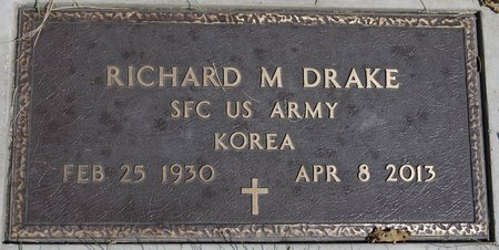 DRAKE, RICHARD M. (MILITARY) - Codington County, South Dakota | RICHARD M. (MILITARY) DRAKE - South Dakota Gravestone Photos