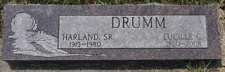DRUMM, HARLAND SR. - Codington County, South Dakota | HARLAND SR. DRUMM - South Dakota Gravestone Photos