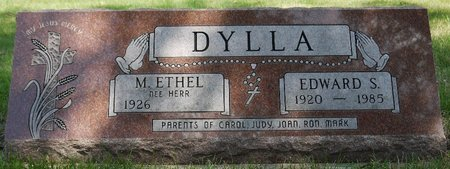 DYLLA, EDWARD S. - Codington County, South Dakota   EDWARD S. DYLLA - South Dakota Gravestone Photos