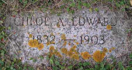 EDWARDS, CHLOE A. - Codington County, South Dakota | CHLOE A. EDWARDS - South Dakota Gravestone Photos