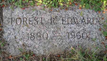 EDWARDS, FOREST R. - Codington County, South Dakota   FOREST R. EDWARDS - South Dakota Gravestone Photos