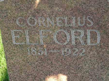 ELFORD, CORNELIUS - Codington County, South Dakota   CORNELIUS ELFORD - South Dakota Gravestone Photos
