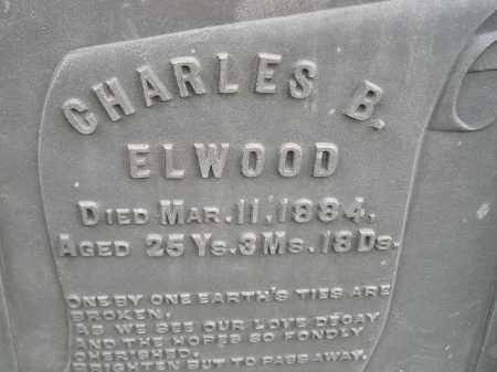 ELWOOD, CHARLES B. - Codington County, South Dakota   CHARLES B. ELWOOD - South Dakota Gravestone Photos