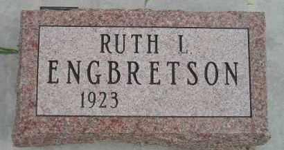 ENGBRETSON, RUTH L. - Codington County, South Dakota | RUTH L. ENGBRETSON - South Dakota Gravestone Photos