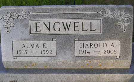 ENGWELL, HAROLD A. - Codington County, South Dakota | HAROLD A. ENGWELL - South Dakota Gravestone Photos