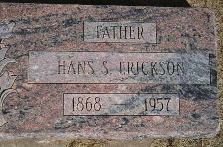 ERICKSON, HANS S. - Codington County, South Dakota | HANS S. ERICKSON - South Dakota Gravestone Photos