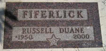 FIFERLICK, RUSSELL DUANE - Codington County, South Dakota | RUSSELL DUANE FIFERLICK - South Dakota Gravestone Photos