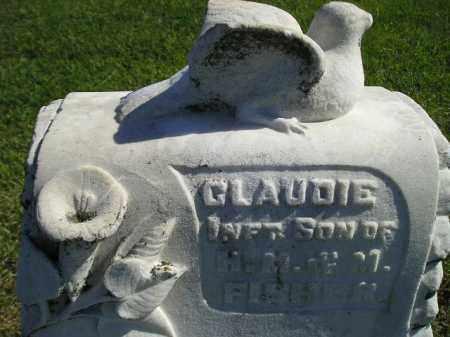 FISHER, CLAUDIE - Codington County, South Dakota | CLAUDIE FISHER - South Dakota Gravestone Photos