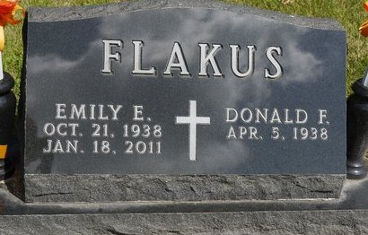 FLAKUS, DONALD F. - Codington County, South Dakota | DONALD F. FLAKUS - South Dakota Gravestone Photos