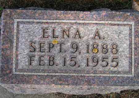 FLOREY, ELNA A. - Codington County, South Dakota   ELNA A. FLOREY - South Dakota Gravestone Photos
