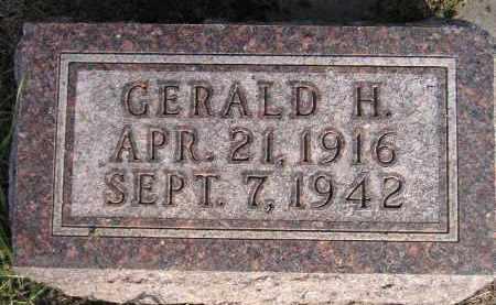 FLOREY, GERALD H. - Codington County, South Dakota   GERALD H. FLOREY - South Dakota Gravestone Photos