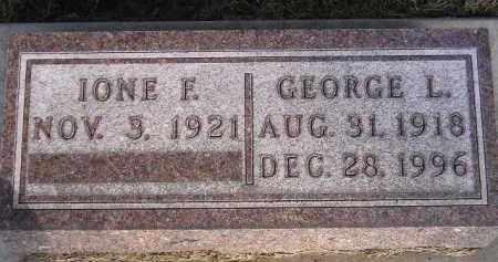 FLOREY, IONE F. - Codington County, South Dakota | IONE F. FLOREY - South Dakota Gravestone Photos