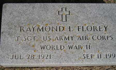 FLOREY, RAYMOND L. - Codington County, South Dakota | RAYMOND L. FLOREY - South Dakota Gravestone Photos