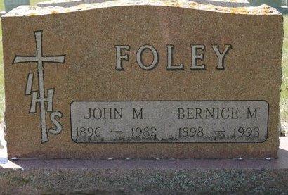 FOLEY, BERNICE M. - Codington County, South Dakota | BERNICE M. FOLEY - South Dakota Gravestone Photos