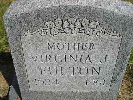 FULTON, VIRGINIA JUNE - Codington County, South Dakota | VIRGINIA JUNE FULTON - South Dakota Gravestone Photos