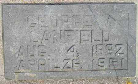GANFIELD, GEORGE VERNON - Codington County, South Dakota | GEORGE VERNON GANFIELD - South Dakota Gravestone Photos