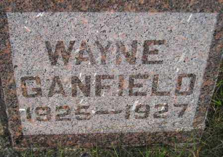 GANFIELD, WAYNE - Codington County, South Dakota | WAYNE GANFIELD - South Dakota Gravestone Photos