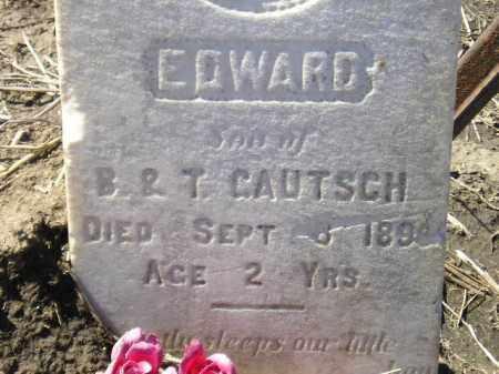 GAUTSCH, EDWARD - Codington County, South Dakota   EDWARD GAUTSCH - South Dakota Gravestone Photos